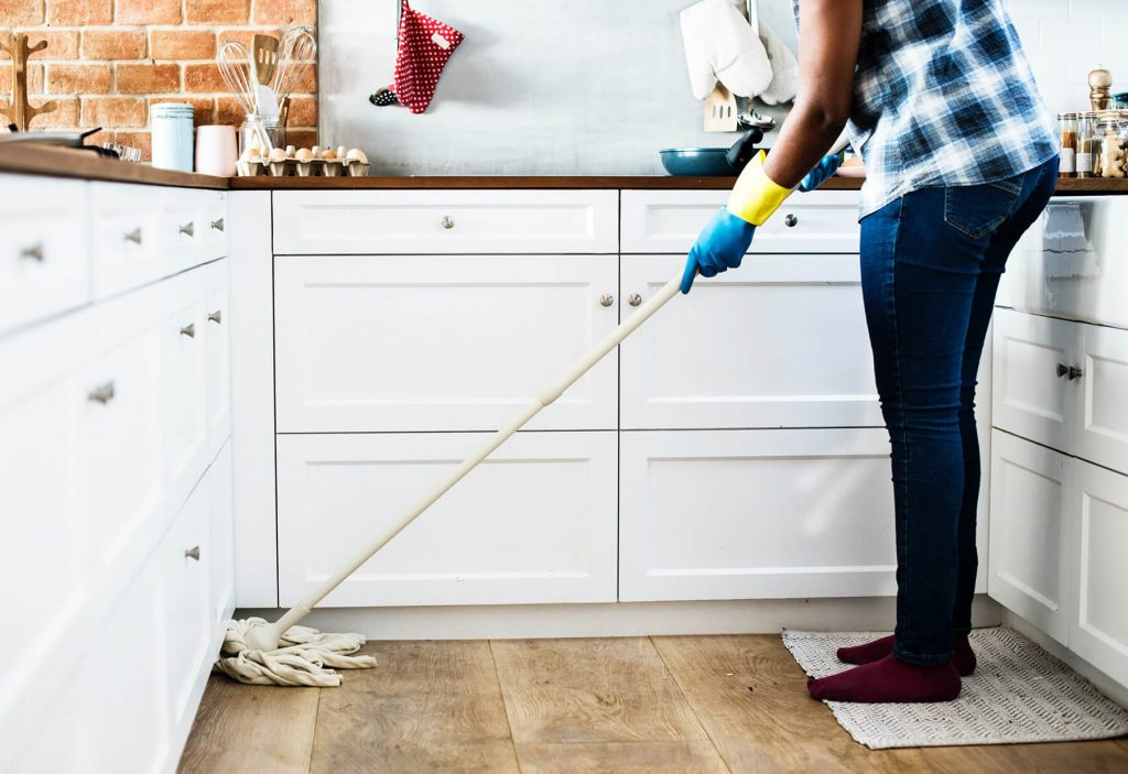 Cleaning your home will make your home less attractive to ants
