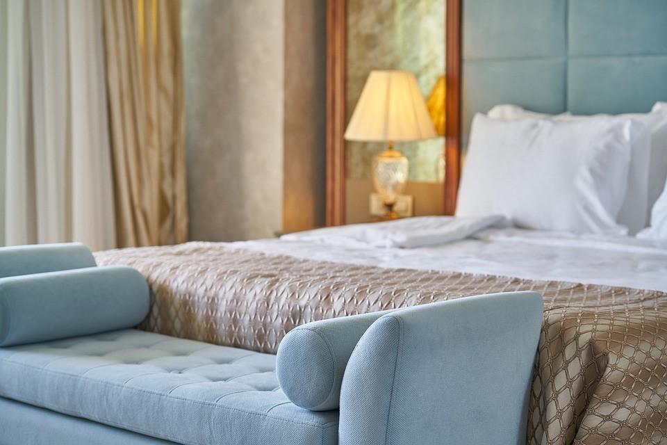 Hotel, Room, Home, Bed, Inner, Luxury, Furniture