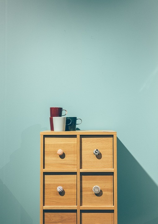 Minimal, Furniture, Drawers, Cup, Interior, Design