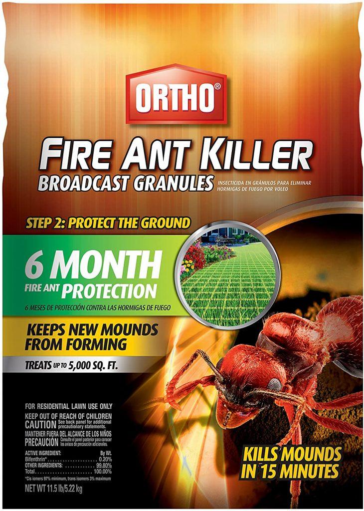 Ortho Fire Ant Killer Broadcast Granules