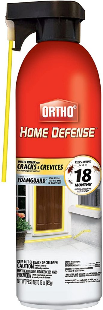 Ortho Home Defence fills voids to control little black ants